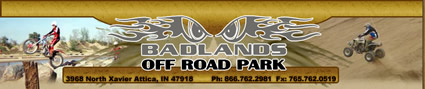 Click here to visit the  Badlands Offroad Park Website